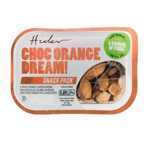 Choc Orange Dream - Fruit & Nuts Protein Snack Pack Hider Foods 45g